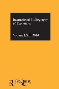 The International Bibliography of Economics 2014
