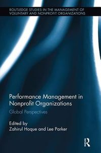 Performance Management in Nonprofit Organizations