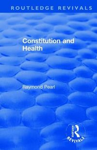 Constitution and Health 1933