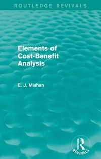 Elements of Cost-benefit Analysis