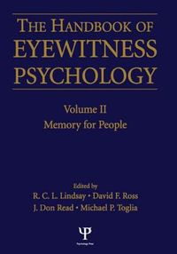 Handbook of Eyewitness Psychology