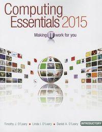 Computing Essentials 2015