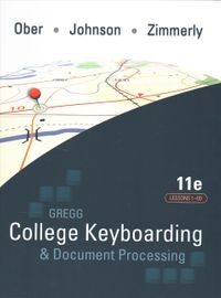 Gregg College Keyboarding & Document Processing, Gdp + Microsoft Word 2016 Manual Kit 1 - Lessons 1-60