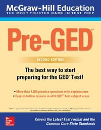 Mcgraw-hill Education Pre-ged