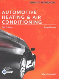 Automotive Heating & Air Conditioning Shop Manual