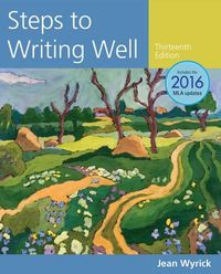 Steps to Writing Well 2016