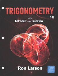 Trigonometry + Enhanced Webassign Access Card
