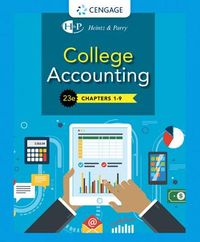 College Accounting, Chapters 1- 9