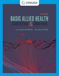 Basic Allied Health Statistics & Analysis