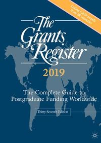 The Grants Register 2019