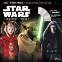 Star Wars The Prequel Trilogy Read-Along Storybook