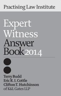 Expert Witness Answer Book 2014
