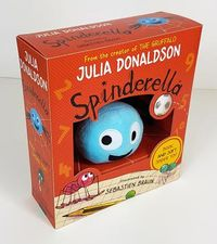 Spinderella Book and Soft Spider Toy