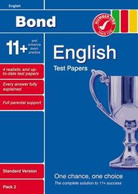 Bond 11+ Test Papers English Standard Pack 2