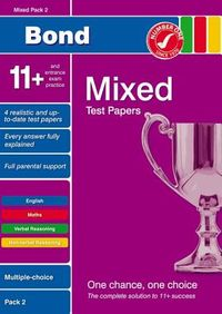 Bond 11+ Test Papers Mixed Pack 2 Multiple Choice