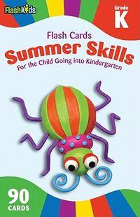 Summer Skills Flash Cards Grade K