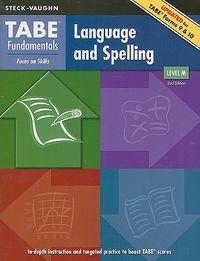 Language and Spelling, Level M