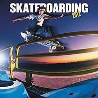 Skateboarding 2012 Calendar