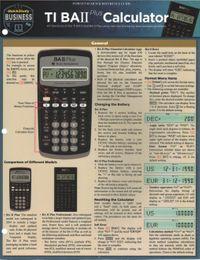 TI BA 2 Plus Calculator