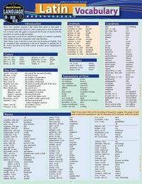 Latin Vocabulary