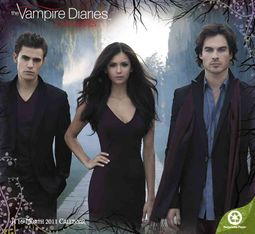 The Vampire Diaries Love Sucks 2011 Calendar
