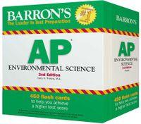 Barron's AP Environmental Science Flash Cards