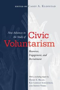 New Advances in the Study of Civic Voluntarism