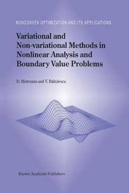 Variational and Non-variational Methods in Nonlinear Analysis and Boundary Value Problems