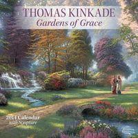 Thomas Kinkade Gardens of Grace With Scripture 2014 Calendar