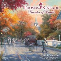Thomas Kinkade Painter of Light With Scripture 2014 Calendar