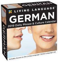 Living Language German 2019 Daily Phrase & Culture Calendar