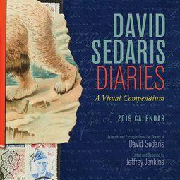 David Sedaris Diaries 2019 Calendar