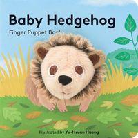 Baby Hedgehog Finger Puppet Book