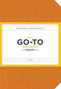 The Go-to Notebook With Mohawk Paper, Persimmon Orange Dotted