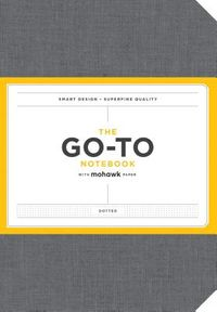 The Go-To Notebook With Mohawk Paper, Slate Grey Dotted