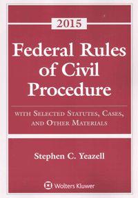 Federal Rules of Civil Procedure 2015