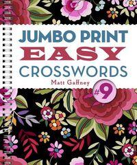 Jumbo Print Easy Crosswords 9