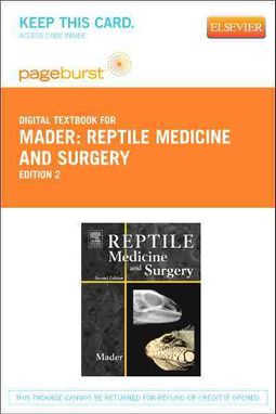 Reptile Medicine and Surgery - Elsevier eBook on VitalSource Retail Access Card