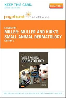 Muller and Kirk's Small Animal Dermatology Pageburst Access Code