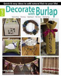 Decorate With Burlap