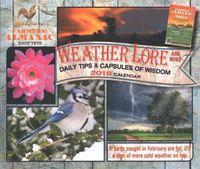 Farmers' Almanac Weather, Lore and More 2018 Calendar