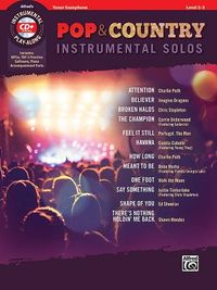 Pop & Country Instrumental Solos Tenor Saxophone