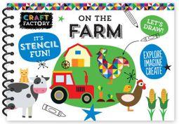 Farm Stencil Activity