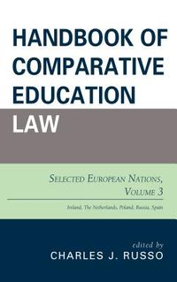 Handbook of Comparative Education Law