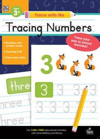 Tracing Numbers Ages 3+