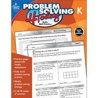 Problem Solving 4 Today, Kindergarten