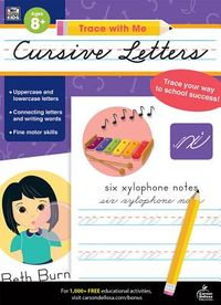 Trace With Me Cursive Letters