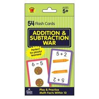 Addition & Subtraction War