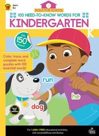 100 Need-to-know Words for Kindergarten
