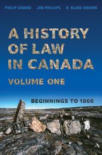 A History of Law in Canada